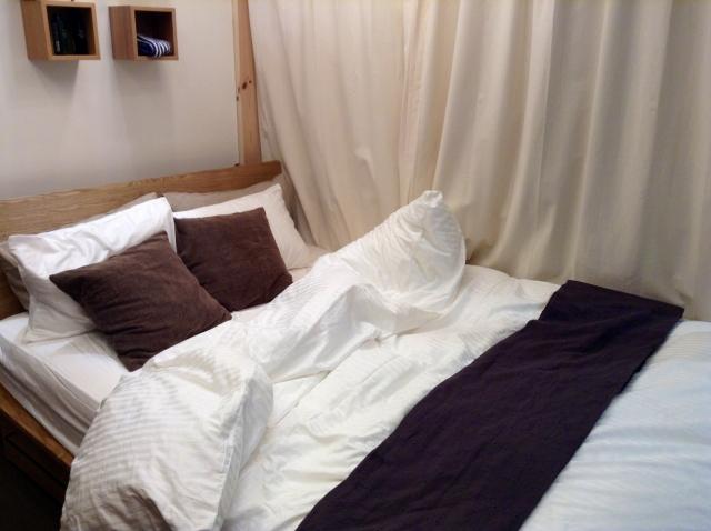 寝具の色は